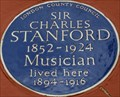 Image for Sir Charles Stanford - Holland Street, London, UK