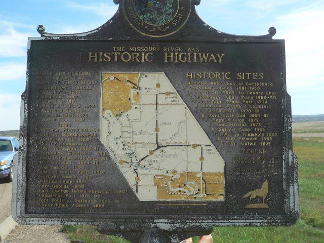 Historic Highway Marker
