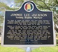 Image for Jimmie Lee Jackson, Voting Rights Martyr - Marion, AL