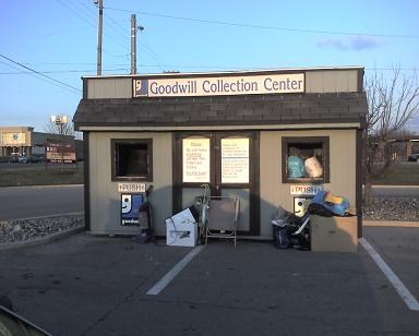 Goodwill Drop Box - Permanent Charity Donation Locations on