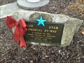 Image for Blue Star Highway Marker - Ellicott City, MD