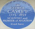 Image for Sir George Cayley - Hertford Street, London, UK