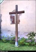 Image for Cross at the St. Nicolas Church / Kríž u kostela Sv. Mikuláše - Benešov (Central Bohemia)
