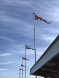 Image for Five flags in Helsingør Nordhavn - Denmark