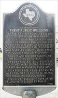 Image for Site of Hays County's First Public Building