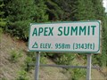 Image for Apex Summit - Nelson, British Columbia - 958 Meters