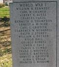 Image for World War I Memorial - Brookfield Memorial ~ Brookfield, MO