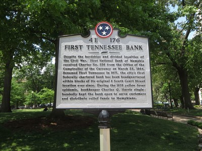- veritas vita visited 4E 176 - First Tennessee Bank -