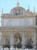 Image for Fontana dell'Acqua Felice - Roma, Italy