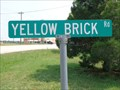 "Image for ""Follow the Yellow Brick Road"" - From ""The Wizard of Oz"" (1939) - Cross Roads, TX"