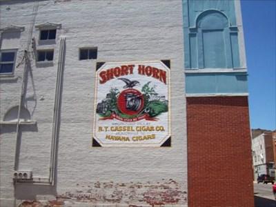 short horn cattle jacksonville illinois murals on. Black Bedroom Furniture Sets. Home Design Ideas
