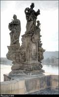 Image for Sculptural group of St. Barbara, St. Margaret and St. Elizabeth on Charles Bridge / Sousoší Sv. Barbory, Sv. Markéty a Sv. Alžbety na Karlove moste (Prague)