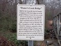 Image for Prater's Creek Bridge, Pickens County, SC
