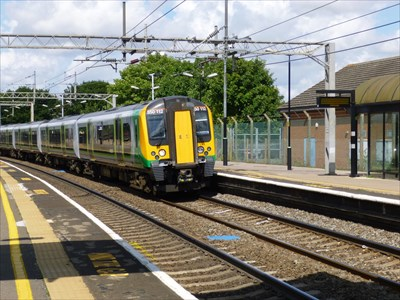 Wolverton Rail Station - Bucks, UK.