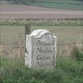 Image for A914 Milestone - Cults, Fife, Scotland.