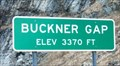Image for Buckner Gap