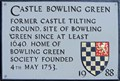 Image for Castle Bowling Green - Castle Gate, Lewes, UK
