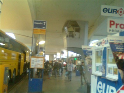 Grand Central Bus Station, Brno