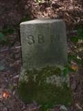 Image for 1881 Survey milestone on Ohio-Pennsylvania border, Mile 38