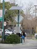 Image for Solar Powered Street Sign - Alameda, CA