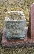 Image for 1867 - Orphan Stone of Walnut Grove Christian Church - Cooper County, MO