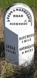 Image for Milestone - Harrogate Road, Harewood, Yorkshire, UK.