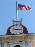 Image for Chase County Courthouse Clock - Cottonwood Falls, Kansas