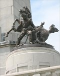 Image for Abraham Lincoln's Tomb: The Cavalry Group - Oak Ridge Cemetery, Springfield, IL