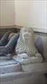 Image for Lion Statues - Ley Tomb, St Michael & All Angels - Teffont Evias, Wiltshire