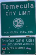 Image for Temecula, California and Its Sisters