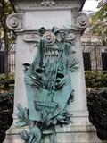 Image for Lyre on Théodore de Banville Monument - Paris, France