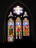 Image for St Tudclud's Church Windows - Penmachno, Conwy, North Wales, UK