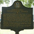 Image for Independent Presbyterian Church Historical Marker - Savannah, GA
