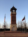 Image for Whistle Stop Plaza Tower Clock - Irving, TX