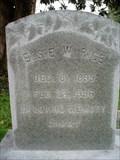 Image for 101 ~ Elsie W. Rice, Fredericksburg, VA