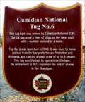 Image for Canadian National Tug no. 6 - Penticton, BC
