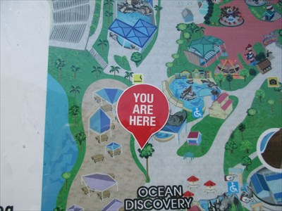 Six Flags Discovery Kingdom You are Here (by stingrays ) - Vallejo ...