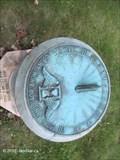 Image for Travis Grave Stone Sundial, Dell Park Cemetery - Natick, MA