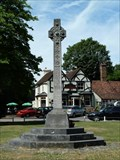 Image for Combined War Memorial, Letchmore Heath, Herts, UK