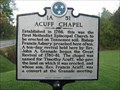 Image for Acuff Chapel - 1A 51 - Blountville, TN