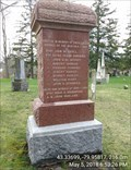 Image for Millgrove Cemetery Cenotaph - Millgrove, Ontario