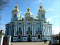 Image for The Naval Cathedral of St. Nicholas - St. Petersburg, Russia