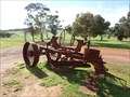 Image for Old road grader, New Norcia, Western Australia