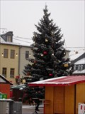 Image for Christmas Tree  on the Marketplace in Saalfeld @ winter
