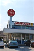 Image for Manayunk Diner Coca Cola Sign