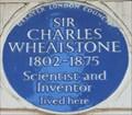Image for Sir Charles Wheatstone - Park Crescent, London, UK