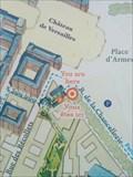 Image for You are here, quartier Saint Louis - Versailles, France