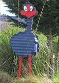Image for Pukeko Mailbox.  Whirinaki Valley Road.  New Zealand.