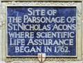 Image for St Nicolas Acons Parsonage - Nicholas Lane, London, UK