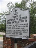 Image for Entrance to Cemetery of the Columbia Hebrew Benevolent Society (40-26)